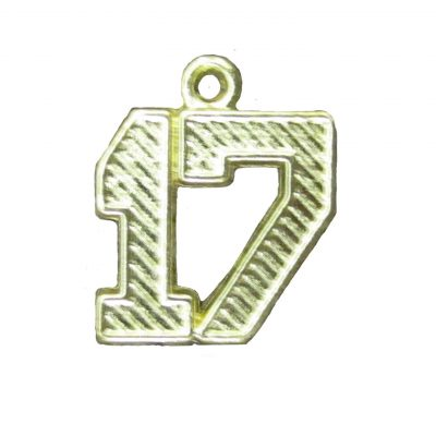 Yeardate Charm Only 1 - Gold